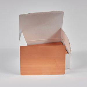 """Hullzellenblech """"Kupfer"""" 70 x 100 x 0,3 (Neue Verpackung – 100 Stück/Paket)"""