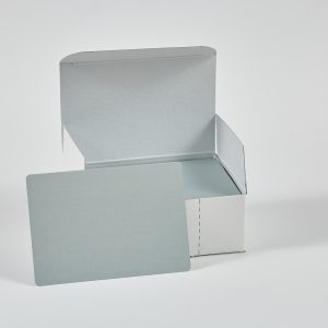 """Hullzellenblech """"Aluminium"""" (neue Verpackung – 100 Stück/Paket)"""
